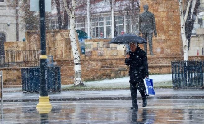 Meteorolojiden 5 il için kar yağışı ve soğuk hava uyarısı