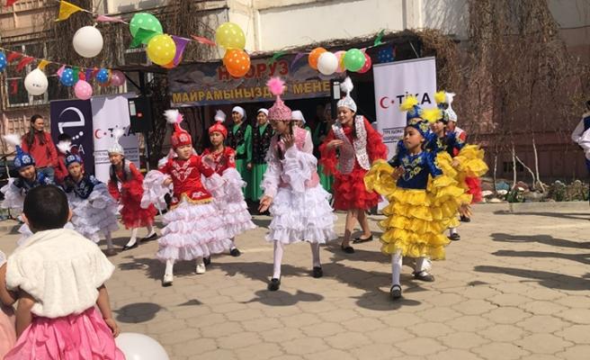 TİKA, Kazakistan'da engelli çocuklar için sanat merkezi kurdu