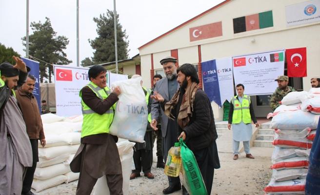 TİKA'dan Afganistan'a acil gıda yardımı