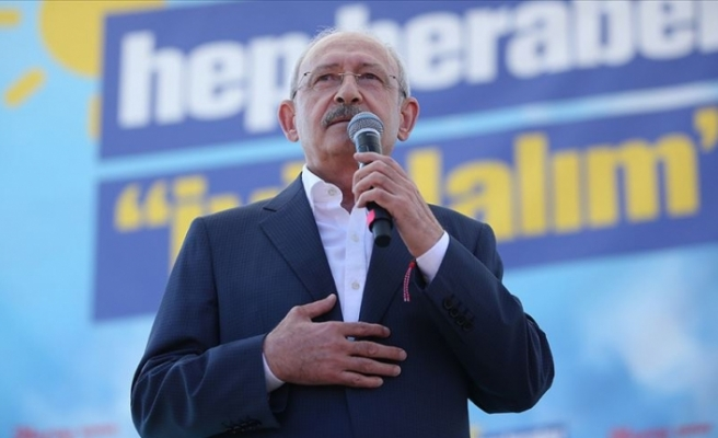 Kılıçdaroğlu: Türkiye'nin sınırları egemen güçlerin lobilerinde çizilmemiştir