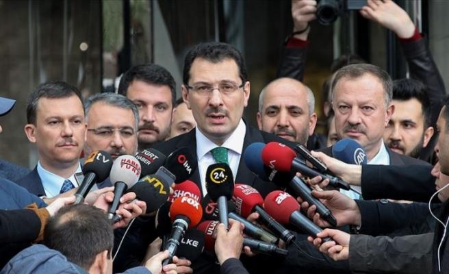 AK Parti İstanbul için olağanüstü itiraz dilekçesini YSK'ye sundu