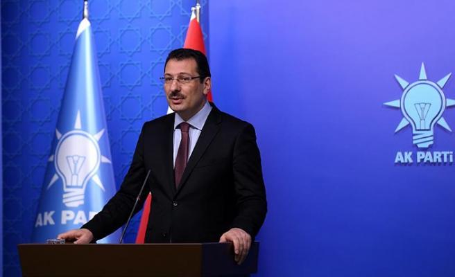 AK Parti olağanüstü itiraz dilekçesini veriyor