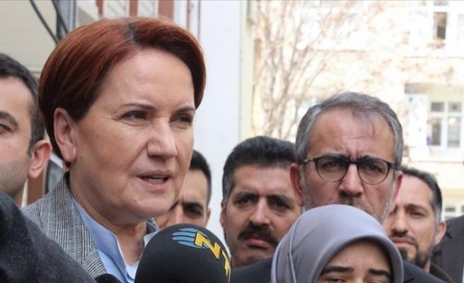 İYİ Parti Genel Başkanı Akşener'den cinsel istismara uğrayan çocuğun ailesine ziyaret