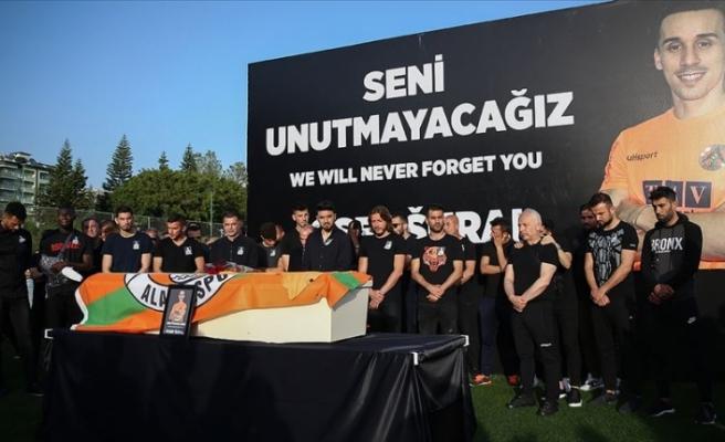 Alanyasporlu Josef Sural için tören düzenlendi