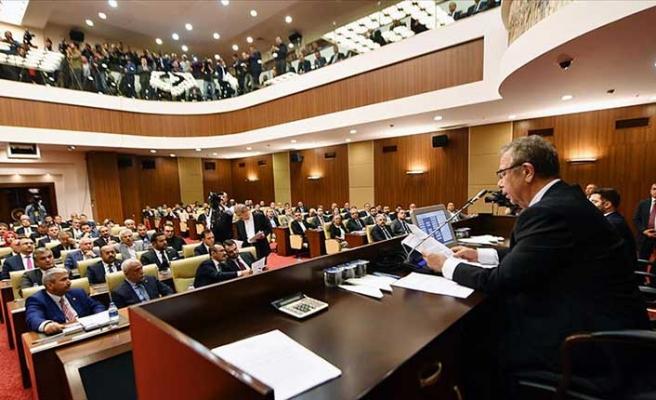Ankara Belediye Meclisi'nde Mansur Yavaş başkanlığında ilk toplantı