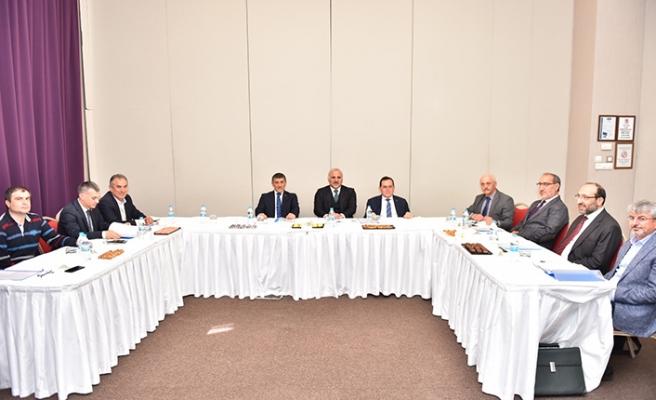 Başkan Zorluoğlu, TDTM Yönetim Kurulu toplantısına katıldı