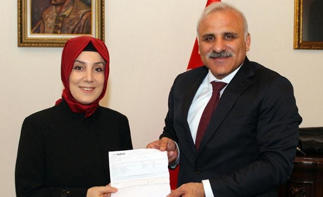 Başkan Zorluoğlu'na tebrik ziyareti