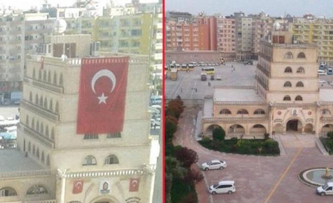 Belediyeyi kazanan HDP'den bayrak provokasyonu!