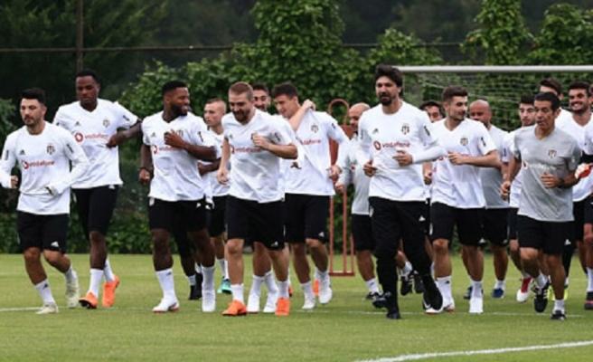 Beşiktaş ara vermeden hazırlıklara başladı