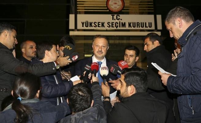 AK Parti YSK Temsilcisi Özel: Bugüne kadar YSK'ye en kapsamlı dosyayı verdik