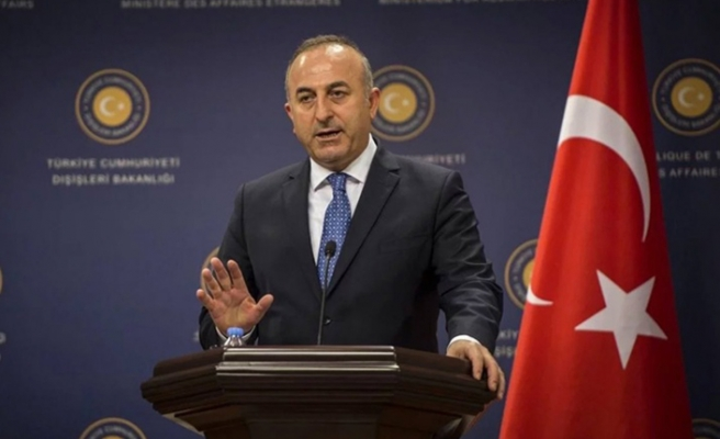 Çavuşoğlu'ndan Filistin-İsrail problemine yönelik açıklama yaptı