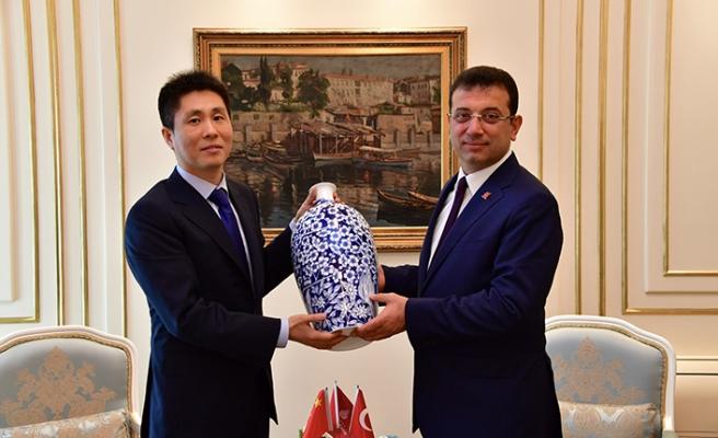 Çin Başkonsolosu Wei'den CHP'li İmamoğlu'na ziyaret