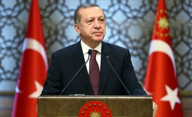 Cumhurbaşkanı Erdoğan Türk Polis Teşkilatının kuruluş yıl dönümünü kutladı