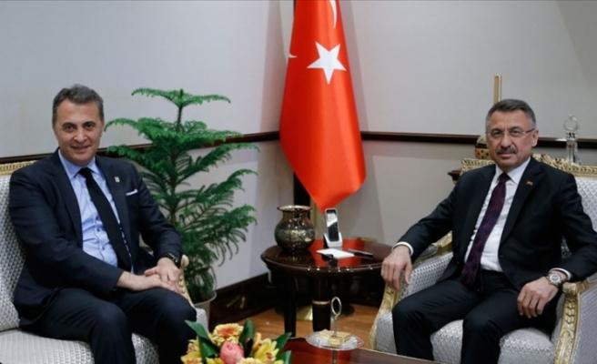 Cumhurbaşkanı Yardımcısı Oktay Orman'ı kabul etti