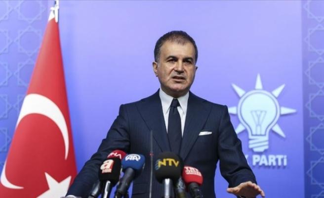 AK Parti Sözcüsü Çelik: Egemenlik kayıtsız şartsız milletindir ilkesinin tarafındayız