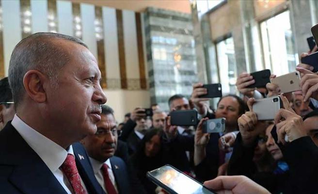 Cumhurbaşkanı Erdoğan'dan HDP'ye tepki! Meclis'teki oturumu terk etti