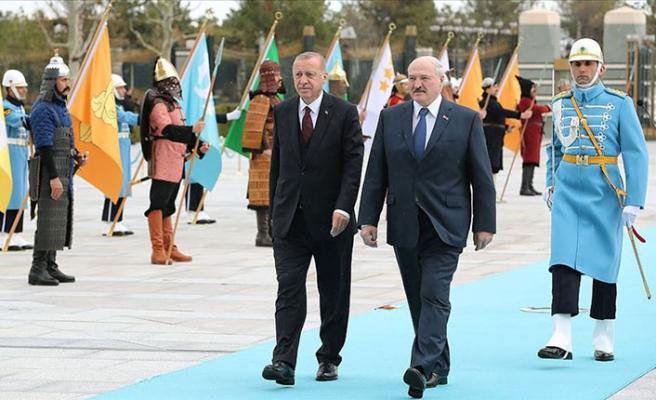 Erdoğan, kritik ismi Beştepe'de resmi törenle karşıladı
