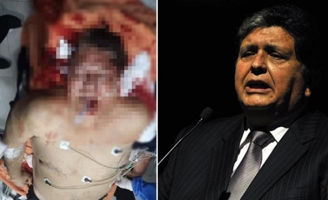 Eski devlet başkanı tutuklanmadan önce kendini vurdu