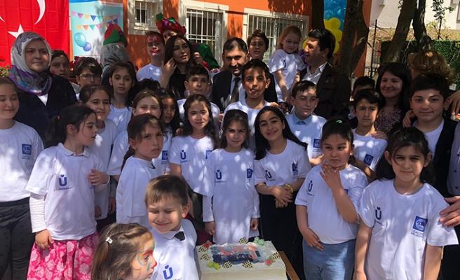 Fevziye Meriç Çocuk Destek ve Eğitim Merkezi'nde 1'inci yıl kutlaması