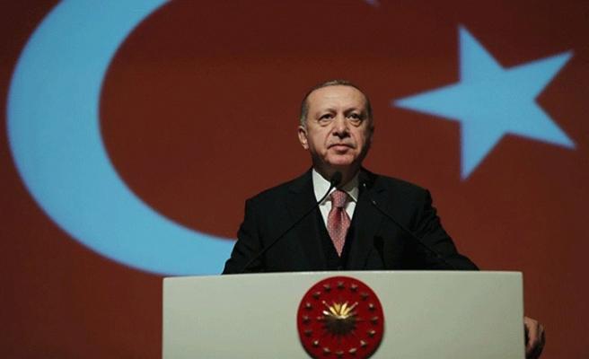 Cumhurbaşkanı Erdoğan Diriliş Ertuğrul'u öve öve bitiremedi