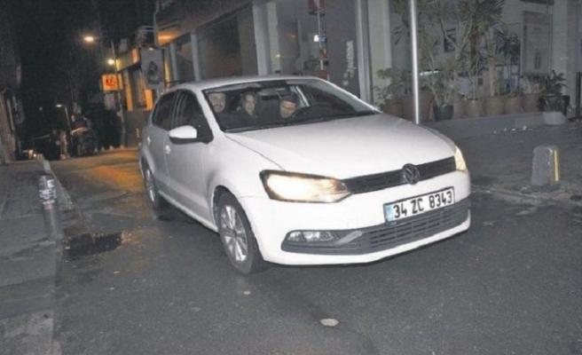 Sabri Sarıoğlu yeni otomobiliyle görüntülendi