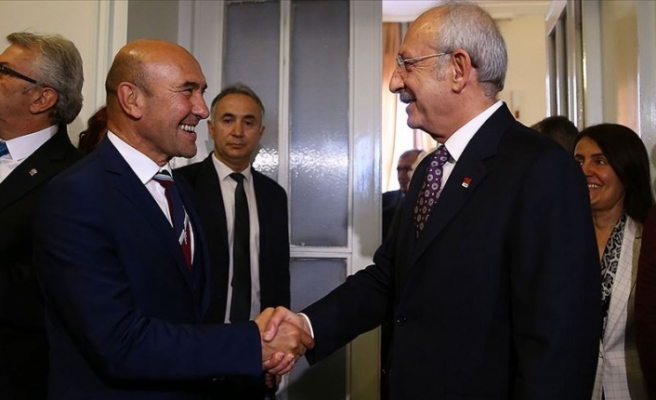 Kılıçdaroğlu, İzmir Büyükşehir Belediye Başkanı Soyer'i kabul etti