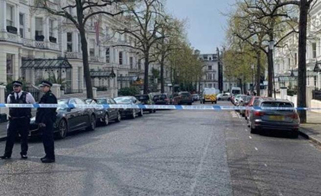 Londra'da silahlı saldırı! Büyükelçilik binası kapatıldı