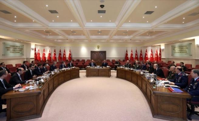 Milli Savunma Bakanlığında 'önemli' toplantı