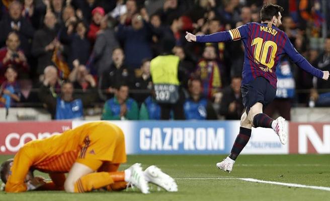 Şampiyonlar Ligi'nde Messi sevindi, Ronaldo üzüldü