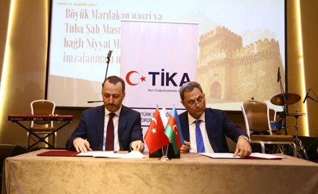 TİKA Azerbaycan'da kale ve mescit restore edecek