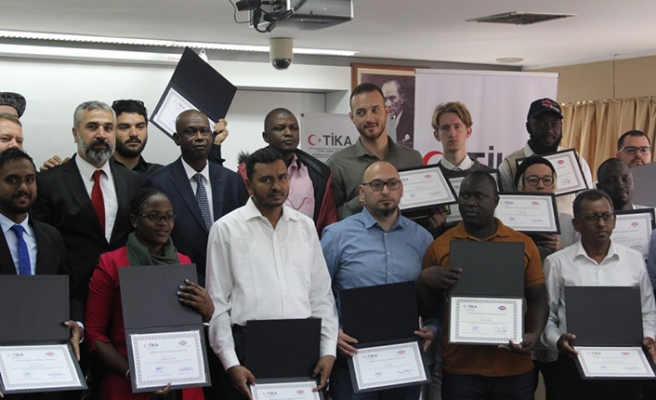 TİKA ve TRT işbirliği içinde GRTS'ye eğitim verildi