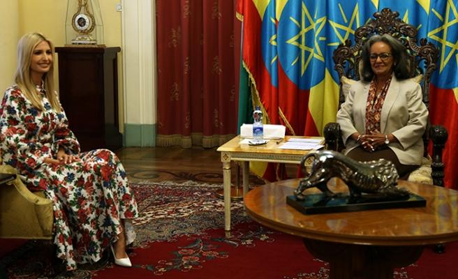 Trump'ın kızı Etiyopya'da