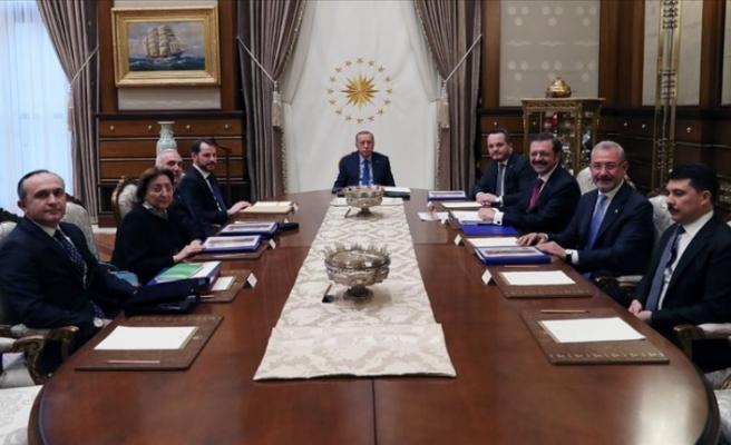 Türkiye Varlık Fonu AŞ Yönetim Kurulu Toplantısı yapıldı