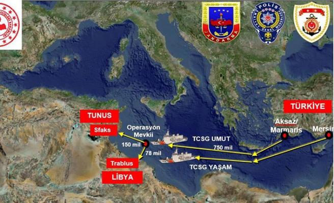 Uluslararası sularda uyuşturucu tacirlerine dev operasyon