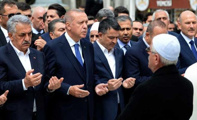 Yazıcı'yı acı gününde Erdoğan yalnız bırakmadı