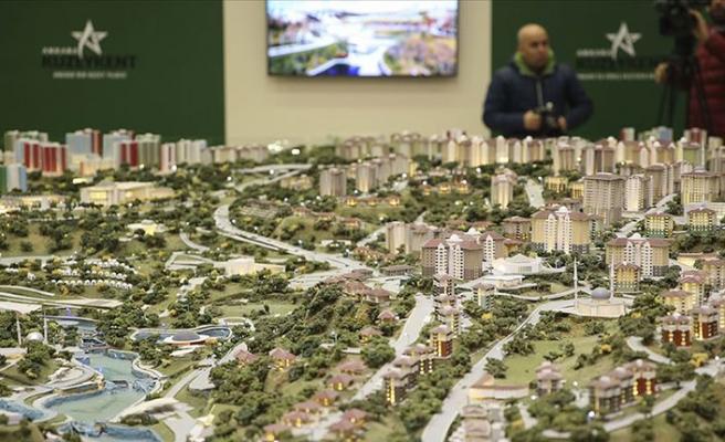 Ankara'da 50 bin sosyal konut projesi kapsamında kura çekildi