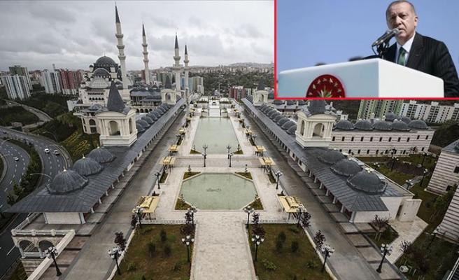 Ankara'da büyük gün! Erdoğan Kuzey Ankara Merkez Camii'nin resmi açılışını yaptı