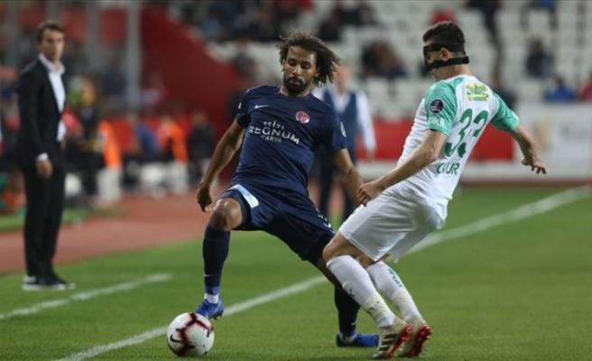 Antalyaspor evinde mağlup