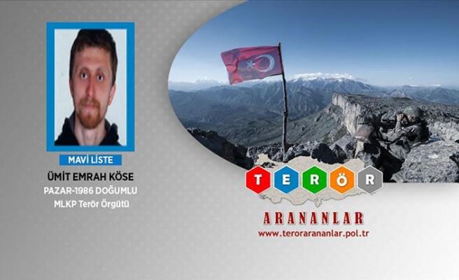 Başına 1,5 milyon TL ödüllü terörist Ümit Emrah Köse yakalandı