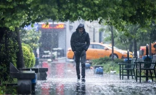 Meteoroloji'den sağanak yağmur uyarısı