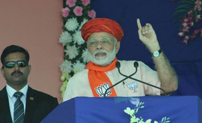 Hindistan Başbakanı Modi'nin 'radar' açıklamasına büyük tepki