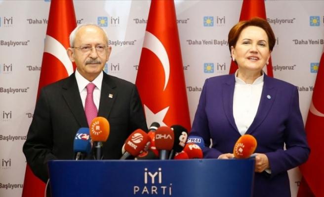 CHP Genel Başkanı Kılıçdaroğlu, Akşener'i ziyaret edecek