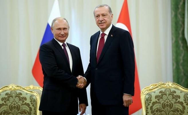 Cumhurbaşkanı Erdoğan Putin ile telefonla görüştü