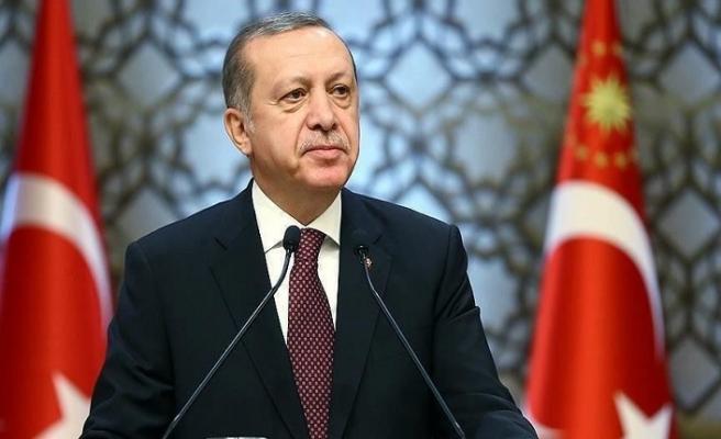 Cumhurbaşkanı Erdoğan'dan '19 Mayıs' mesajı