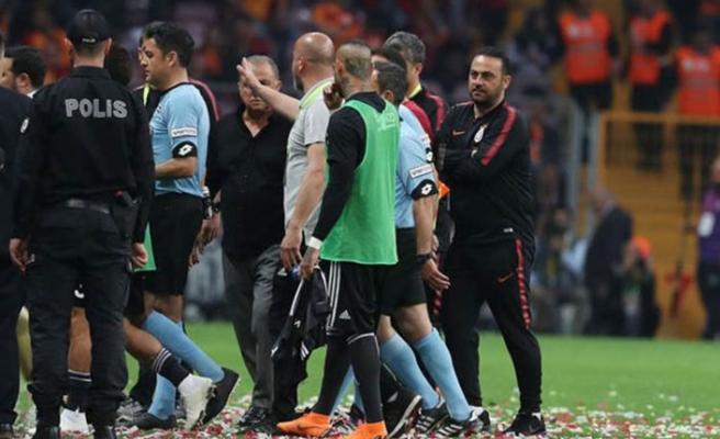 Galatasaray - Beşiktaş maçı sonrası gerginlik!