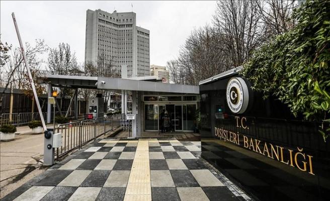 Dışişleri Bakanlığı Yunanistan'a çağrıda bulundu