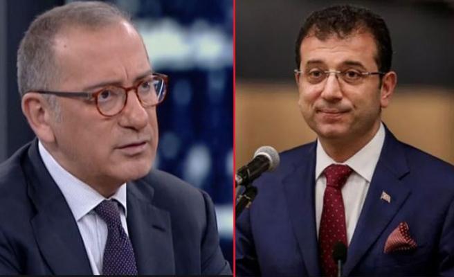 Fatih Altaylı: İmamoğlu'na seçimi kaybettirecek bazı...