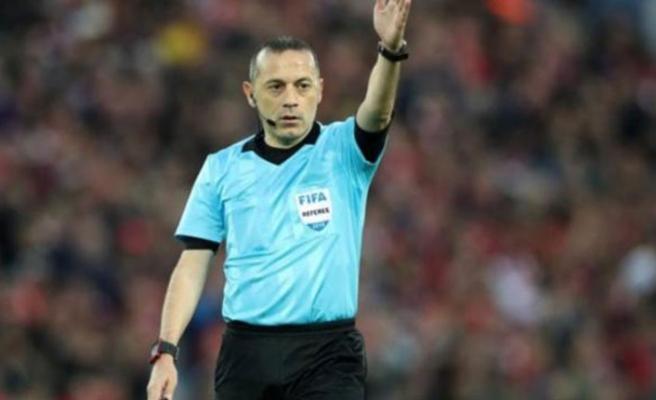 Şampiyonu tayin edecek Galatasaray - Başakşehir maçının hakemi Cüneyt Çakır oldu