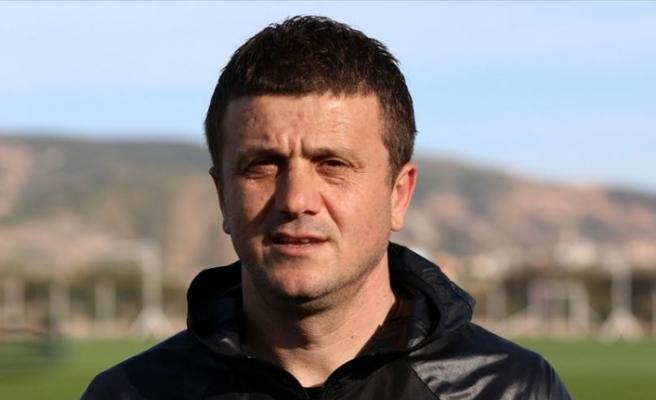 Demir Grup Sivasspor Teknik Direktörü Hakan Keleş: Hedeflediğimiz puanı almak istiyoruz