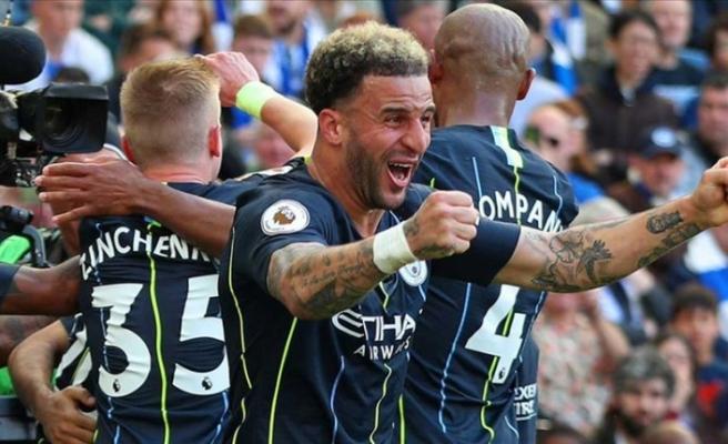 İngiltere Premier Lig'de şampiyon Manchester City